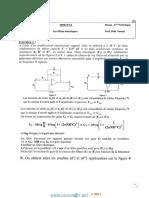 Série d'Exercices 12 - Sciences Physiques - Les Filtres Électriques - Bac Technique (2013-2014) Mr Fkiri.faouzi