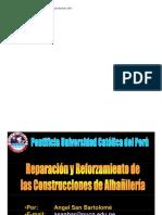 Reparación y Reforzamiento de Construcciones de Albañileria