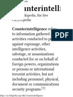 Counterintelligence - Wikipedia