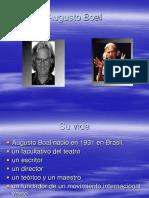 Biografía de Augusto Boal