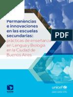 Permanencias e Innovaciones en Las Escuelas Secundarias