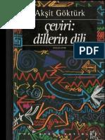 Akşit Göktürk - Çeviri_ Dillerin Dili