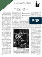 Eugene F. Marks - The Origin of Hymns