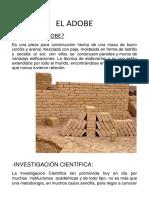 EL-ADOBE Informe