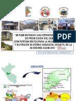Proyecto de Mejora CS Acomayo - DIRESA Huanucox