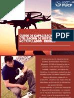 Información Curso Capacitación Drones 2017
