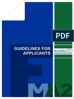 Eureka Sd Guidelines for Applicants 4th Call Updated En