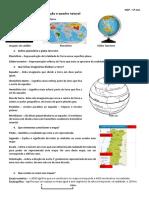 1º Teste - A Península Ibérica