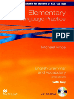Elementary Language Practice 3rd Edition by Michael Vince 2010 130220085738 Phpapp01