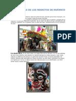 Vestimentas de Los Negritos de Huánuco