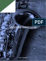 Modos Griegos Por Marco Chérrez