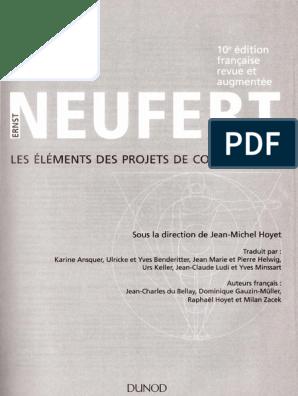 telecharger neufert 10 pdf gratuit francais