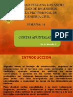 Clase 14. Cortes Apuntalados