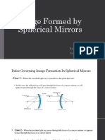 Image Formed by Spherical Mirrors
