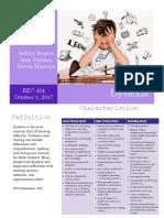 dyslexia newsletter