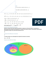 Definição de Conjuntos Numéricos-Resumo