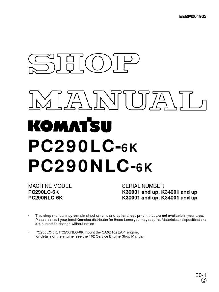 KOMATSU KESRA pdf | Rope | Screw