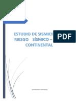 EVALUACIÓN SISMICA - RIEZGO SISMICO