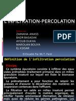 L'Infiltration Percolation