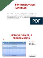 8va. Tablas (Matrices)2011b
