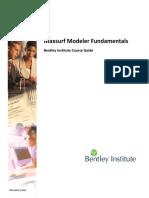 Maxsurf Modeler Fundamentals TRN020400-1-0001