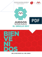 Programa General Intercampus El Grullo 2017