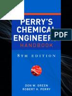 Perry's Chemical Engineers' Handbook, 8th Ed..pdf