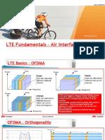 LTE Fundamentals - Air Interface - 2015H2 LTE ME Staff Training