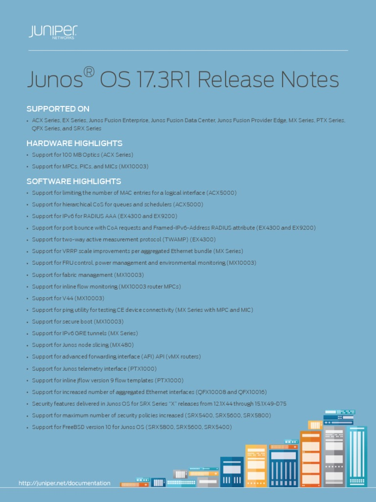 Junos Release Notes 17 3 | Multiprotocol Label Switching