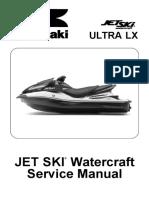Kawasaki JetSki Watercraft ULTRA LX (JT1500-C7.8.9F) '07 a '09 - Service Manual