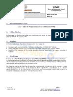 PT Certificacion PMP V7 2016