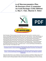 0pjd PDF Principles of Macroeconomics Plus MyEconLab With Pearson EText 1 Semester Access Access Card Package 12th Edition by Karl E Case Ray C Fair Sharon E Oster