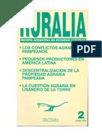 Ansaldi, W., Hipotesis Sobre Los Conflictos Agrarios Pampeanos