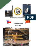 historial de Escuela Shaolin Quan Coquimbo  Chile