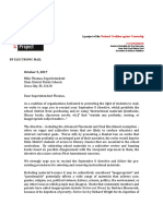 KRRP Letter to Dixie Superintendent