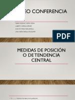 Medidas de Posición o de Tendencia Central
