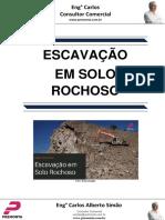 Escavação Em Solo Rochoso
