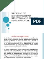 Recurso de Inconformidad- LSS- TEJEDA R. E.