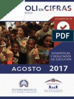 Boletín Estadístico Agosto 2017