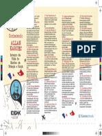 Marcador de Livros Roteiros na França - Kardecpedia