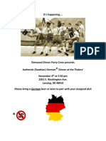 German Dinner Party Recipes - Final