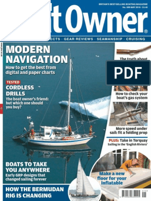 9b97b38277b Practical Boat Owner May 2016 | Boats | Watercraft