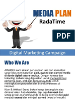 Media Plan Radatime
