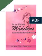 Aus Sicht eines Mädchens -  Annie Poonen