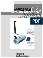 PC015-A 15W CO2 Laser Surgical System User's Manual
