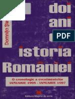 Doi Ani Din Istoria Romaniei O Cronologie a Evenimentelor, Ianuarie 1995-Ianuarie 1997 Domnita Stefanescu