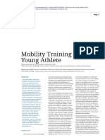 Mobility Training for the Young Athlete
