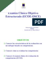 Presentacion Examen Clinico Objetivo Estructurado Ecoe Osce