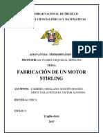 Fabricación de Un Motor Stirling