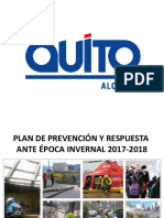 Plan Lluvias Quito2017
